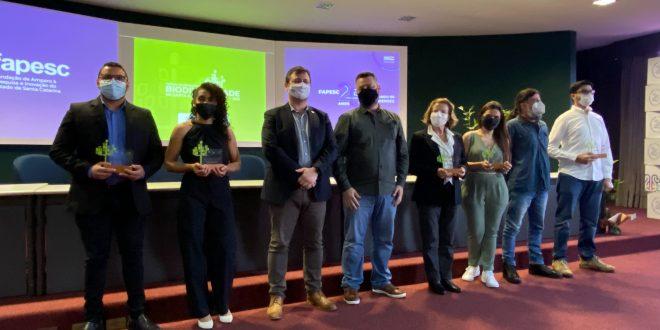 Conheça os cinco vencedores do Prêmio de Valorização da Biodiversidade de Santa Catarina